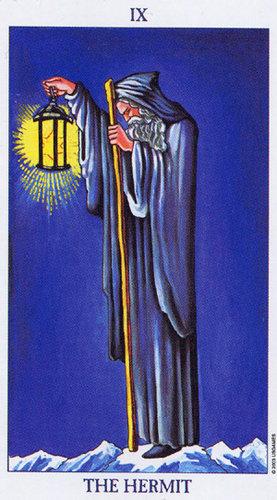9 Eremita Arkana Wielkie Wrozby I Tarot Kartylosu Pl