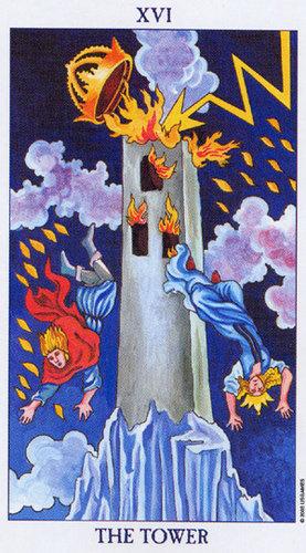 16 Wieza Arkana Wielkie Wrozby I Tarot Kartylosu Pl
